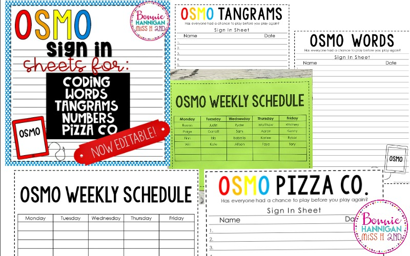OSMO Resource is now editable!