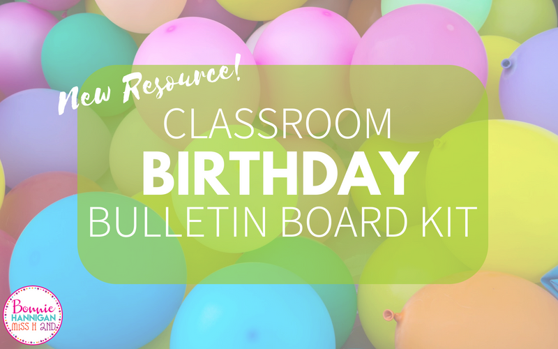 Birthday Bulletin Board Kit