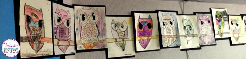 Owl Directed Drawings